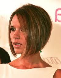 haircuts for shorter in back longer in front bob haircuts short in back long in front victoria beckham longer