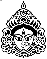 durga puja coloring pages kids website for parents