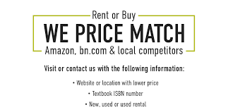 does amazon price match black friday bn college cal state la university bookstore