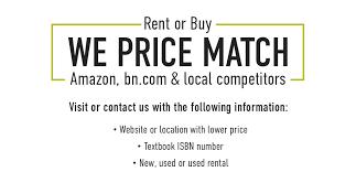 amazon price match black friday bn college cal state la university bookstore