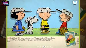 charlie brown all stars baseball youtube