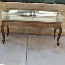 Display Case Coffee Table by Antique China Cabinets Antique Display Cabinets Antique Curio