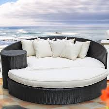 brayden studio greening outdoor daybed with ottoman u0026 cushions