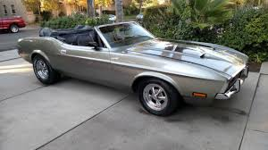 Black Mustang Grey Stripes Seller Of Classic Cars 1971 Ford Mustang Gray With Black Rally