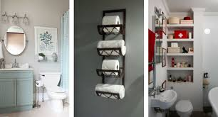 bathroom accessory ideas clever small bathroom decor ideas