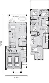 Duplex Floor Plans Australia Narrow But Large 2 Storey Home With 5 Bedrooms Plus A Study And 3