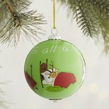 li bien santa claus reindeer sleeping ornament pier 1 imports