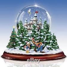 light up snow globe walt disney musical light up snow globe tabletop holiday decor new