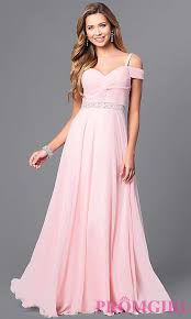 cold shoulder dress chiffon prom dress with cold shoulders promgirl