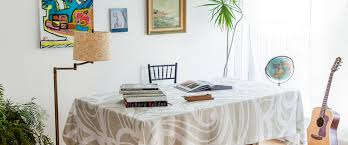 huddleson tablecloth shop los angeles modern table linens