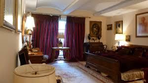 interior design purple master bedroom at real estate second ave