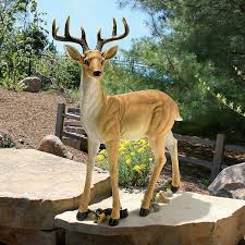 outdoor deer statues wayfair