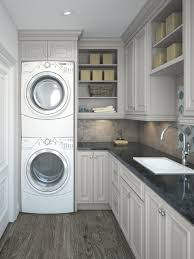 Discount Laundry Room Cabinets Roosevelt Dove Gray Pre Assembled Laundry Room Cabinets The Rta