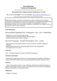 sle photographer resume stunning professional photographer resume format photos entry
