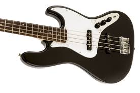 squier affinity jazz bass rosewood fingerboard black squier