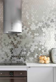 Metallic Tile Backsplash by 589 Best Backsplash Ideas Images On Pinterest Backsplash Ideas