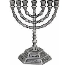 7 candle menorah 7 branch menorahs menorah