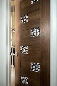 Modern Bathroom Doors Doors With Glass Brilliant Interior Wood Doors With Glass Interior