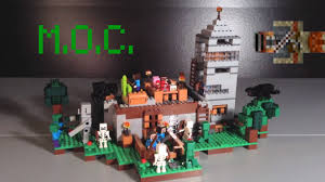 captainsparklez fiat lego minecraft house moc youtube