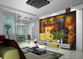 continental abstract wallpaper mural painting the living room see larger image