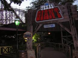 New Texas Giant Six Flags Over Texas File Texas Giant Sign Jpg Wikimedia Commons