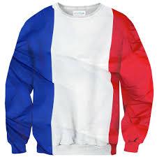 french flag sweater shelfies