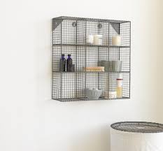 Industrial Wire Shelving by Bathroom Wall Shelf Unit Ikea Shower Grundtal Corner Wall Shelf