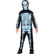 Halloween Costumes Skeleton Buy X Ray Skeleton Kids Costume