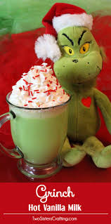 grinch vanilla milk two sisters crafting
