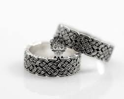 celtic wedding rings celtic wedding rings etsy