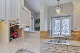 granite countertop kitchen cabinets plan country tile backsplash