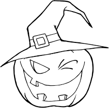 download coloring pages pumpkin halloween