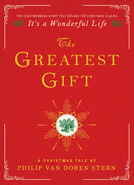 the greatest gift book by philip van doren stern official