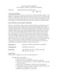 Resume Samples New Graduate by Classy Occupational Therapy Resumes Samples Also Occupational