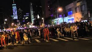 event city halloween village halloween parade nyc 2015 thriller dance group