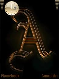 cool letter a