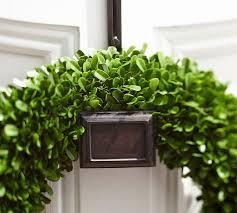 ella adjustable door wreath hanger pottery barn