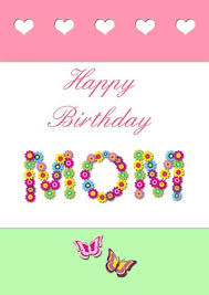Print Birthday Cards Best Printable Birthday Cards For Mom Studentschillout