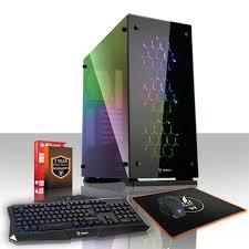 pc gamer de bureau fierce apache pc gamer de bureau intel i7 7700 4x4 2ghz cpu