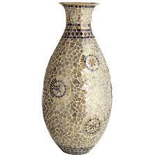 champagne u0026 gold mosaic urn vase pier 1 imports