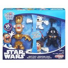 Potato Head Kit Disguise Potato Head Star Wars Multi Pack 18 Pieces Mix Match