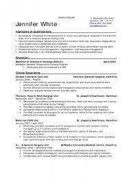examples of nursing student resumes template registered nurse
