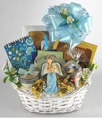 bereavement gift baskets angel sympathy gift basket