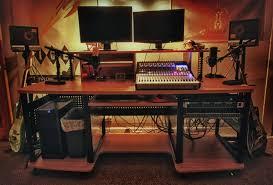 Building A Recording Studio Desk by Best Studio Desk 2017