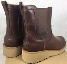 womens chelsea boots australia ugg australia leather wedge ankle boots for ebay