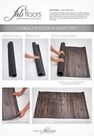 faux wood photography floor mat faded rainbow wood planks roll