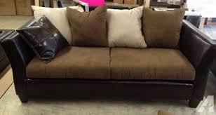 Leather Suede Sofa Leather Suede Sofa Loveseat For Sale In Gadsden Alabama