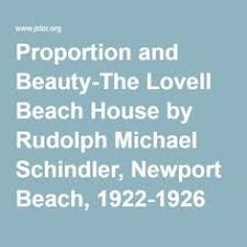 Lovell Beach House Rudoloh Michael Schindler Lovell Beach House Newport Beach