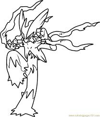 mega blaziken pokemon coloring png 690 800 pokemon