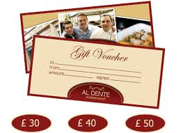 discount restaurant gift cards aldente italian restaurant in edinburgh gift vouchers